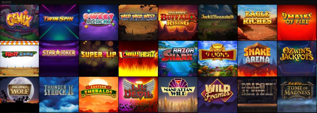 Voodoo Dreams casino games