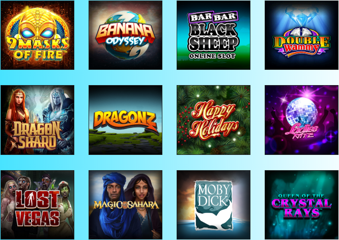 Lucky Nugget casino review - available games