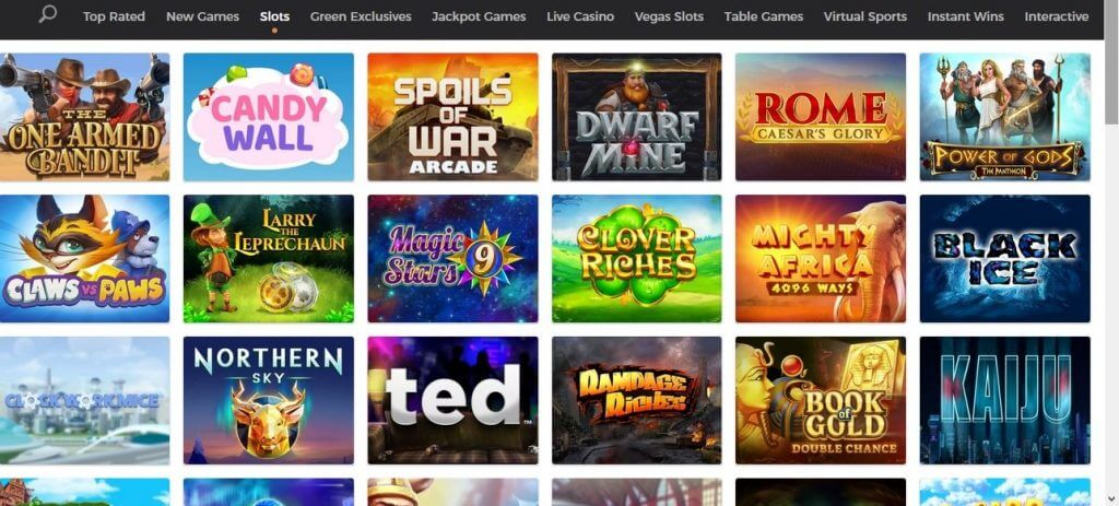 Mr green casino games