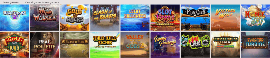 New games on NYspins