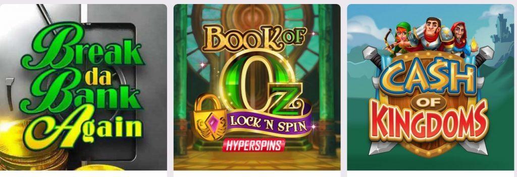 games on POLi casinos
