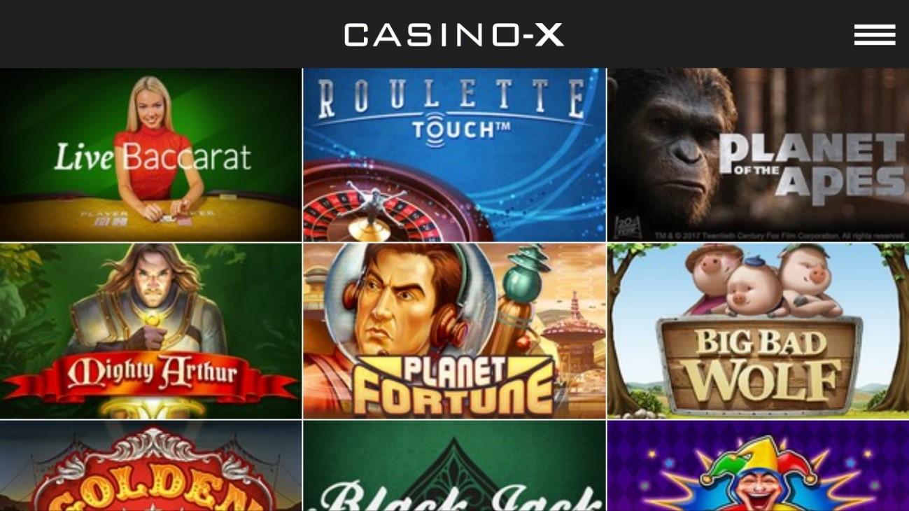 カジノエックス-ゲーム
