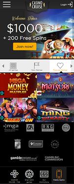 Casino Cruise Mobile Casino