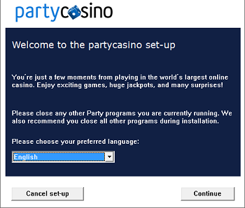 Download Party Casino Software