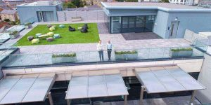 Microgaming HQ Rooftop Lounge