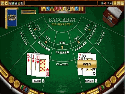 Online Baccarate Game