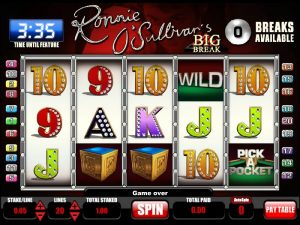 Ronnie Sullivans Big Break Slots