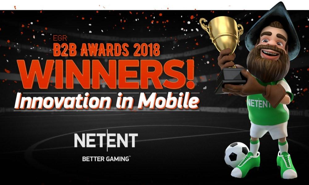 NetEnt Wins Award as 2 Multi-Million Jackpots are hit
