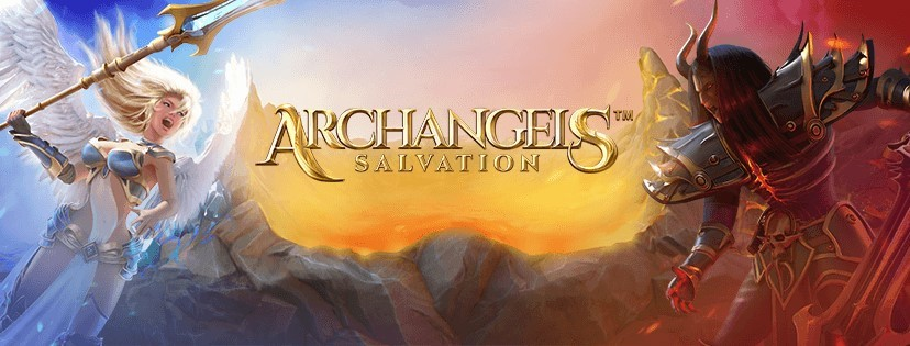 NetEnts Archangels Salvation takes Avalanche a step further